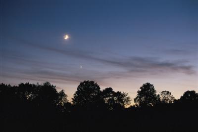 Slik viser Venus på nattehimmelen