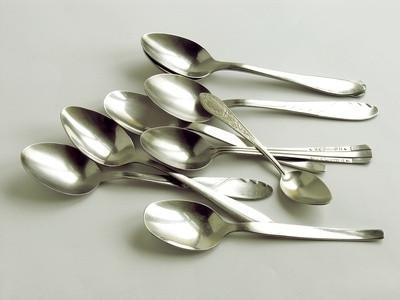 Forskjeller mellom en Demitasse & Sugar Spoon