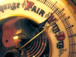 Forskjellen mellom Barometer, Manometer & Vindmåler