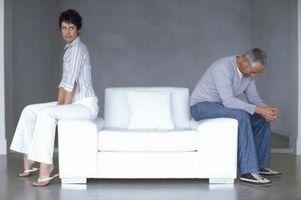 Negative hendelser i en skilsmisse