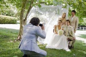 Slik Dekorer en bakgård for en bryllupsfeiring