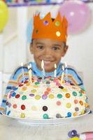 Birthday Cake dekorere ideer for Kids Bruke Candies