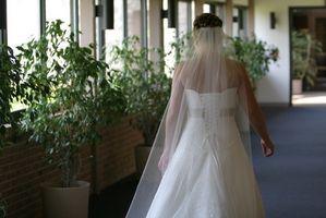 Instruksjon om hvordan å lage bryllup slør