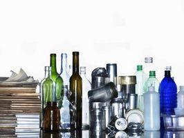 Hvordan fortelle om en glassflaske Vintage