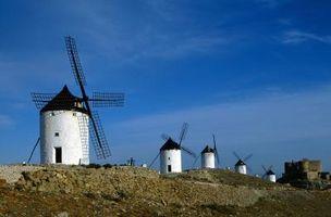 Hvordan lage en Seil Hub for en vindmølle