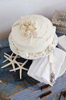 Tropical Wedding Cake dekorasjoner