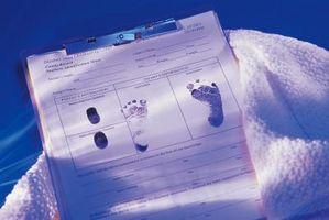 Hvordan få en original kopi av fødselsattest i New York