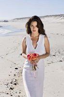 Den beste stranden bryllup kjoler