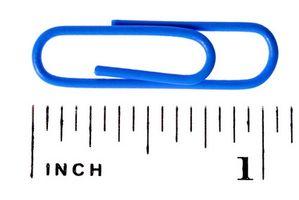 Slik konverterer Metric Scale Units til tommer