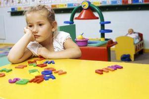 Mål og Behavioral Mål for førskolebarn med ADD