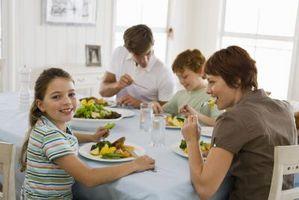 Daglige rutiner for familier