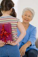 Bursdag Gaver til bestemødre