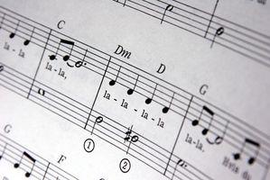 Musikken spill for barn 0-8 år med Music Notes