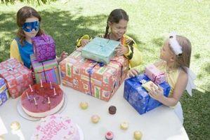 Ideer for en bursdagsgave til en 10 år gammel jente