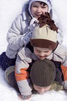 Winter Sports aktiviteter for barna