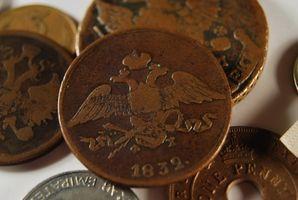 Hvordan finne en verdi av en mynt