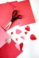 Valentine håndverk å gjøre for ham