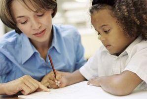 Hvordan lage en sta Child Skriv
