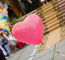 Førskolen bevegelse eller musikkaktiviteter for Valentinsdag