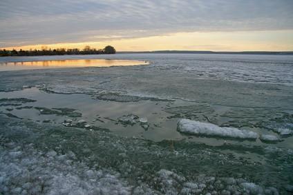 Utstyr for å sjekke Ice Dybde