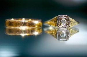 Hvordan Design Antikke Wedding Rings