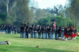 Hvordan identifisere borgerkrig Uniform knapper