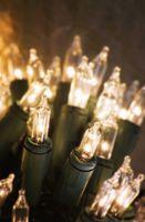 Hvordan fikse en seksjon av Icicle Christmas Lights