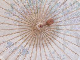 Brude dusj ideer med Paraplyer