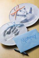 Hvordan få en Newborn Hånd Skriv ut