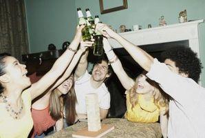 Drinking Games å spille med venner