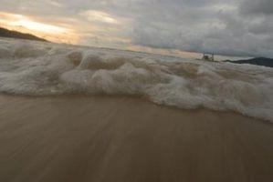 Hva er effekten av Beach Erosjon?