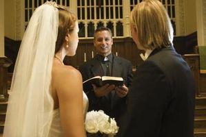 Hva Tips pastoren for et bryllup