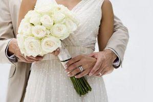 Ideer for hånd bundet Wedding Flowers