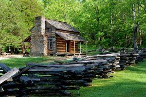 Hvordan lage Abraham Lincolns Log Cabin