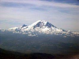 Om aktive vulkaner i Washington