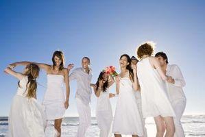 Den Etiquette for en Wedding Invitasjon Guest List