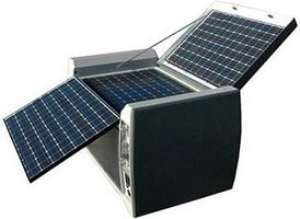 Hvordan bygge en bærbar solar panel system