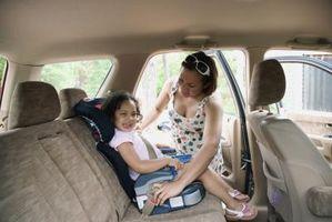 Er sidekollisjonsgardiner trygt for barn?