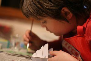Forskjellen mellom barna med Art Eksponering & Kids Without