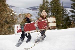 Gratis aktiviteter gjennom vintermånedene