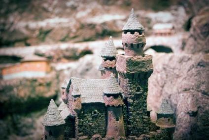 Hvordan bygge en modell Medieval Castle