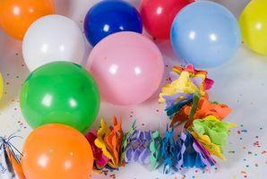 Slik Dekorer en kontorpult med ballonger