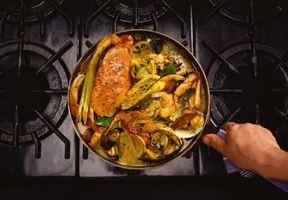 Autentisk Irish Stew Ingredienser