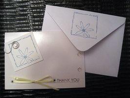 Bridal Shower takkekort uttrykk