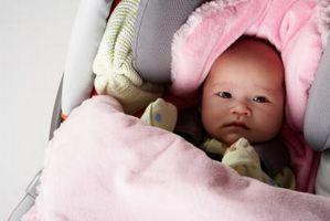 Hvordan du får en baby Brukes til bilsetet