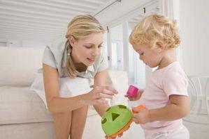 Hvordan voksne bruker språk når vi samhandler med småbarn