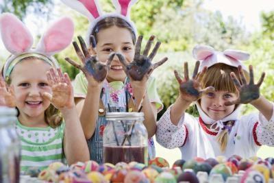 Ideer for Easter Egg Hunts