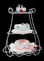 Wedding Cake ideer ved hjelp av en Wilton Hage Stand
