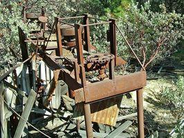 Hvordan skille Gold Dust Funnet i Mines