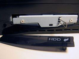 Hvordan erstatte en harddisk i en PS3